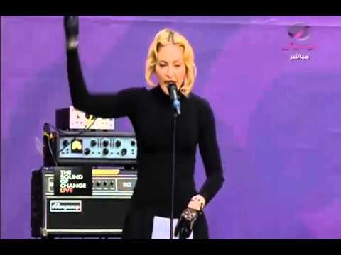 Madonna Speech. Chime for Change (The Sound of Change Live) London 1.06.2013