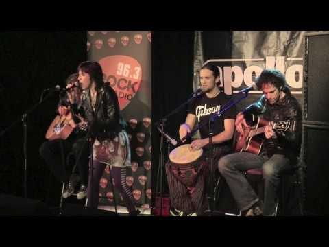 Live & Acoustic: Halestorm perform 'Familiar Taste Of Poison' Rock Radio Secret Session