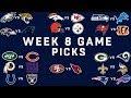 Week 8 NFL Game Picks NFL mp3