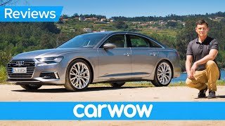 New Audi A6 2019 review - see why it's better than a BMW 5 Series and Mercedes E-Class!