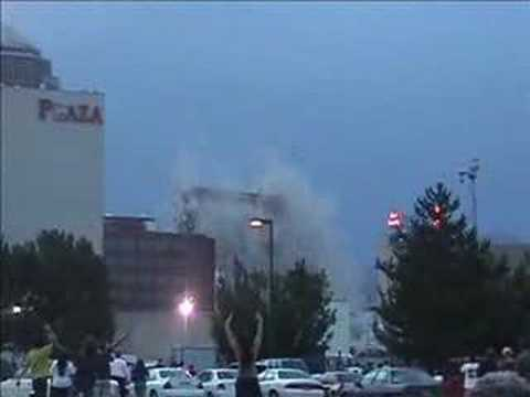 Key Bank Building Implosion