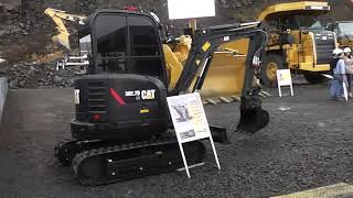 Caterpillar CAT 302 7D CR Minibagger @ Steinexpo 2017
