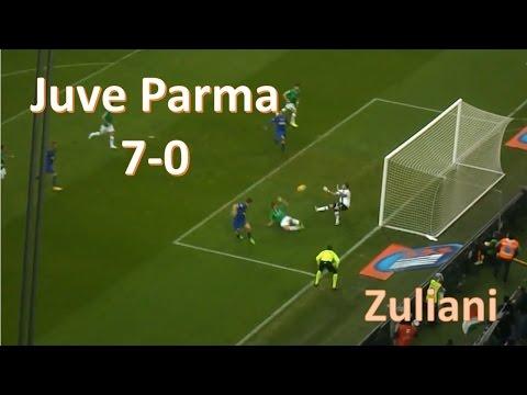 Juventus Parma 7-0 9/11/14 Zuliani Tutti i Gol
