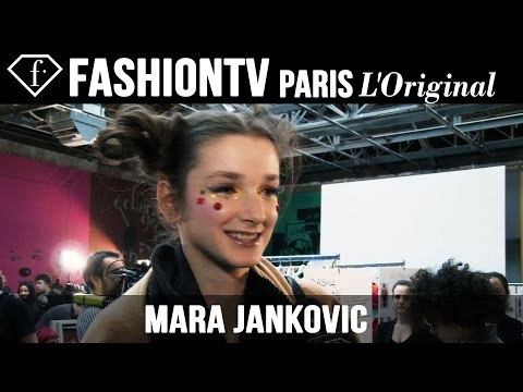 Mara Jankovic: My Look Today | Model Talk | Fashiontv video