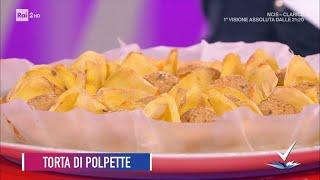 Diego Bongiovanni - Torta di polpette - Detto Fatto 23/04/2021