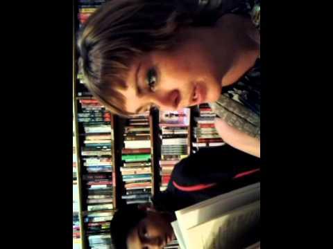 Oak tree music book shop Paris Hannah reads