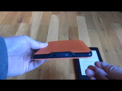 Kindle Paperwhite Leather Orange Case Review Comparison