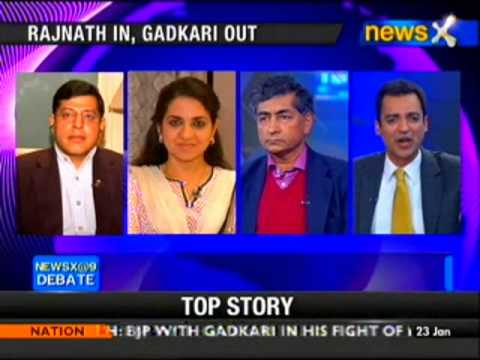NewsX@9: Rajnath Singh Vs Rahul Gandhi