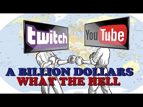 Youtube Buys Twitch For $1 BILLION!? (WTF GOOGLE)