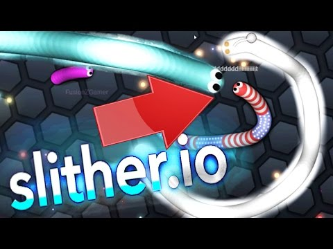 BIGGEST FAIL EVER! THE NEW AGAR.IO! | SLITHER.IO (slither.io Funny Moments #1)