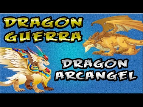 DRAGON ARCANGEL Y DRAGON BELICO DRAGON CITY