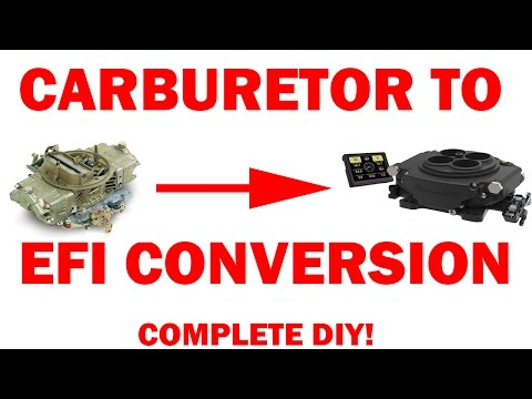How to Convert From Carburetor To Fuel Injection - (Sniper EFI)
