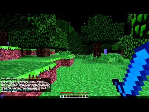 Minecraft: Level 127 enchantments with Single Player Commands Mod