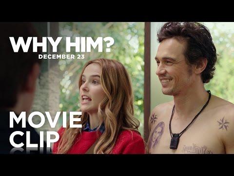 "Why Him?   ""Christmas Card"" Clip   20th Century FOX"