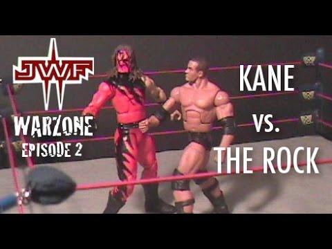 The Rock vs. Kane (stop-motion) - JWF WarZone Episode 2 thumbnail