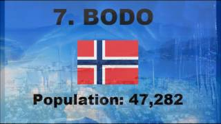 Top 10 Largest Cities Within The Arctic Circle