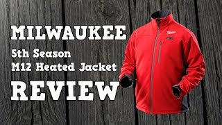 2014 5th Season Milwaukee M12 Heated Jacket Review
