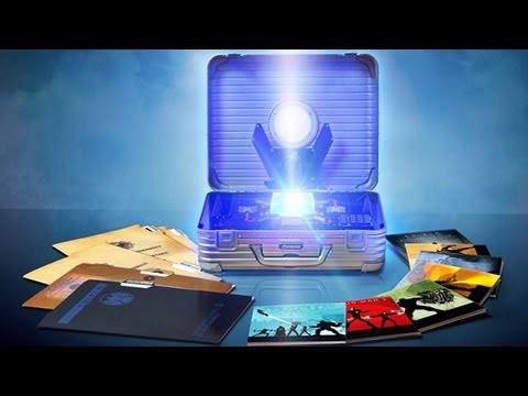 Marvel Phase One Blu-ray Set Unboxing