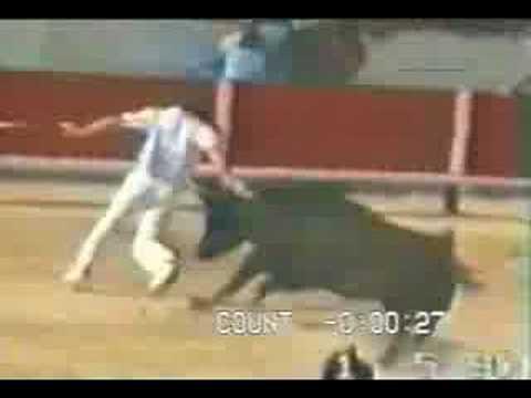 acidente na tourada