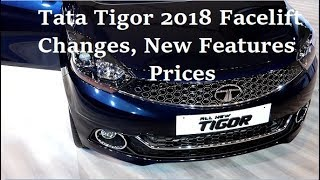 Tata Tigor 2018 Facelift Changes, Looks, New Features Review, Touchscreen AVN