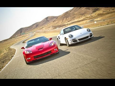 Drag Race! Chevrolet Corvette ZR1 vs Porsche 911 Turbo Music Videos
