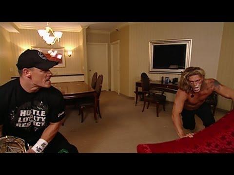 John Cena surprises Edge and Lita - Raw: July 20, 2006