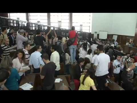 Shock as Al Jazeera journalists given jail terms | Journal