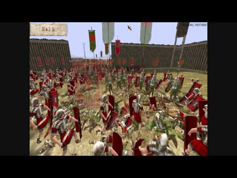 Rome Total War Online Battle #1620: Rome (10k) vs Gaul (20k)