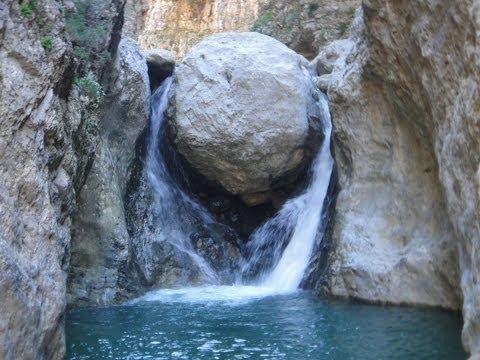 Havgas gorge Lassithi Crete Greece