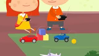 Doctor McWheelie & the toy car. Remote control car.