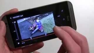 How to apply slow motion effects to your videos on the HTC One (M8)