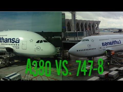 A380 vs 747-8i - Lufthansa Economy Class Reviews and Comparison!