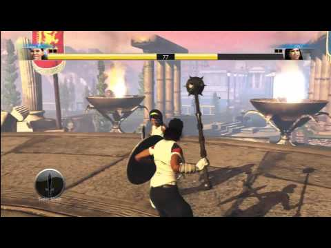 SPORTS CHAMPIONS (PS3 MOVE) GAMEPLAY GLADIATOR