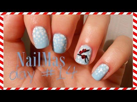 Let It Snow ● Nail Art