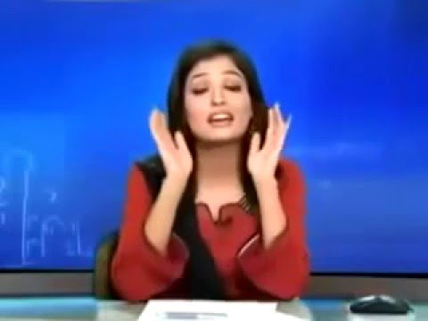 Funny Pakistani and Indian News Bloopers and Behind The Scenes 2016