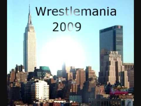 WSX Wrestlemania 2009 Theme and Logo! Video