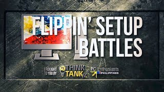 FLIPPIN SETUP BATTLES - Submit Your Pinoy PC or Mac Setup! Feat. SuperPinoy of PCEP