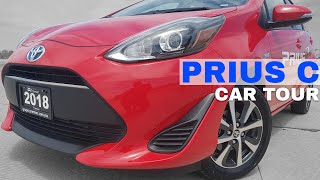 ⭕2018 Toyota Prius C - Quick Look Car Tour