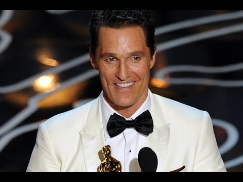 VIDEO:Matthew Mcconaughey Alright Alright Alright Oscars