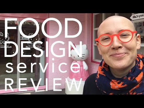 Food Design Service Review - Hello Kitty Cafe (Seoul, South Korea)