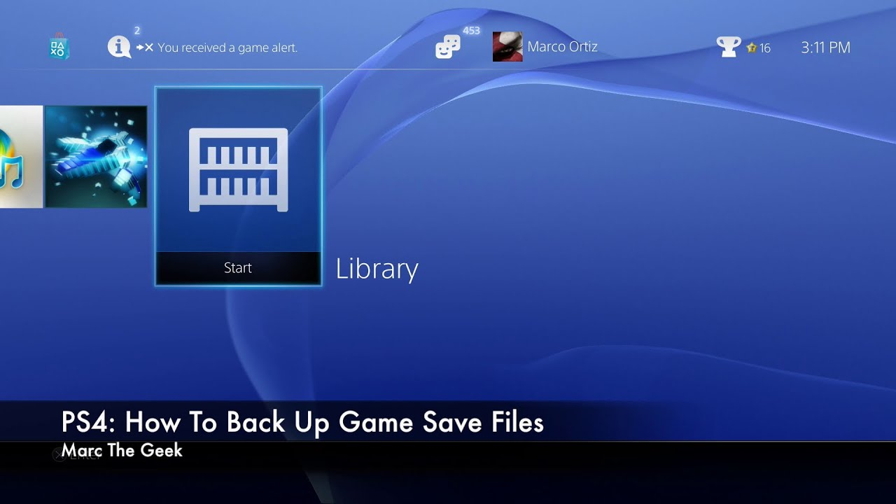 How to Backup PS4 Data To The Cloud - Online Tech Tips
