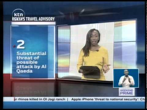 Kenya's Ministry of Foreign Affairs against traveling through London's Heathrow Airport
