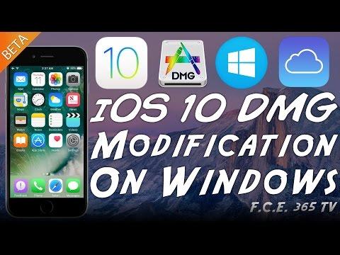 iOS 10 - Modify ROOT FS DMG On Windows (No MAC Required) with TransMAC v11.2