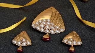 Shilpa Lifestyle - 4th Anniversary SCRATCH & WIN MEGA CELEBRATION Offer for Royal Pendant Set