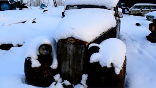 1937 Mercedes-Benz w153 Cold Start After 11 Years (1080p)