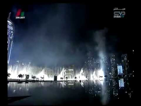 Burj  Dubai  Burj Khalifa opening ceremony worlds tallest building tower 4 January 2010