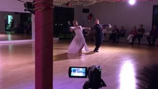 Zhenya and Kelly Viennese waltz summer showcase 2016