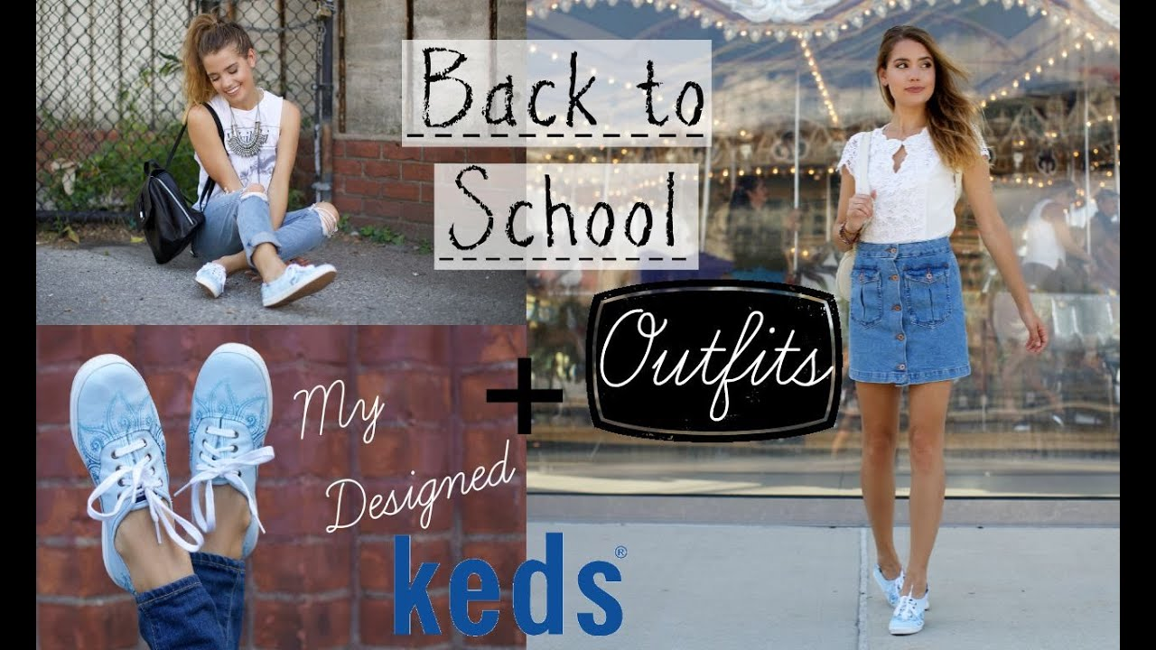 First Day of School Outfit Ideas + I Designed a Shoe?! | Best of ...