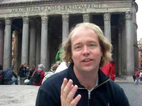 Learn Italian - Past Tense Verbs (part 1) at the Pantheon in Rome