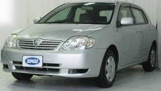 2001 Toyota Allex (Vehicle sold out on December 10th, 2013)